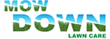 Mow Down Lawncare Retina Logo